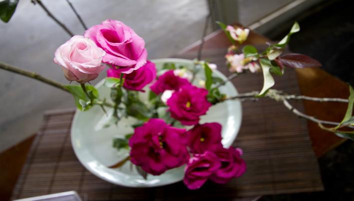 Resultado de imagem para imagens de ikebanas de saúde