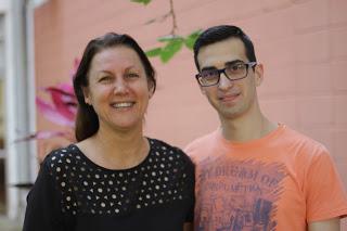 A professora Sandra orientará Leandro em um dos projetos do ICMC selecionados pela empresa
