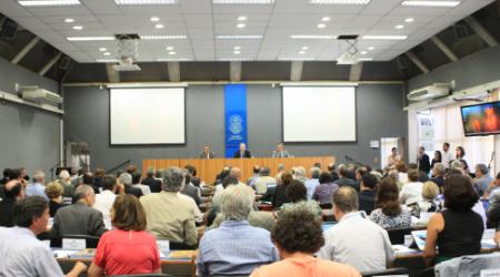 Foto: Assessoria de Imprensa da USPNa primeira sessão do ano, o Conselho Universitário homologou as indicações