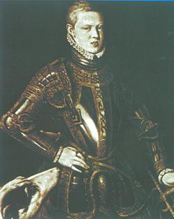 Retrato de Dom Sebastião, feito por Cristóvão de Morais