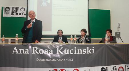 Foto: Joaquim DuarteFábio Konder Comparato, Adriano Diogo, Rosa Cardoso e Maria Victoria Benevides