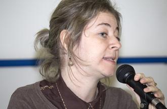 Foto: IEA-USPProfessora Bibiana Graeff.