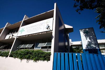 Fachada do Centrinho-USP Foto: Adauto Nascimento/Arquivo HRAC-USP