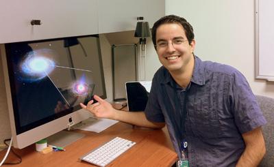 Astrofísico e professor do Instituto de Astronomia, Geofísica e Ciências Atmosféricas (IAG) da USP, Rodrigo Nemmen - Foto: Divulgação
