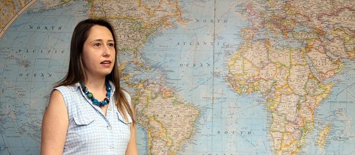 Larissa Mies Bombardi | Foto: Cecília Bastos